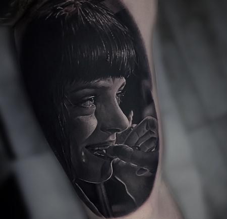 Pulp Fiction Tattoo Tattoo Design