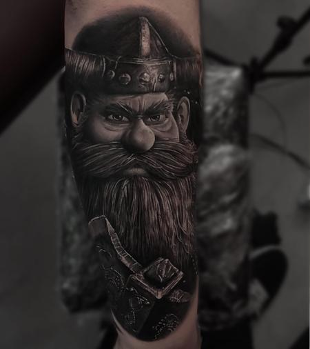 Viking Tattoo Design Thumbnail