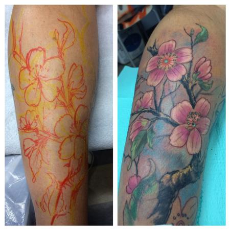 Tattoos - cherry blossom - 94708