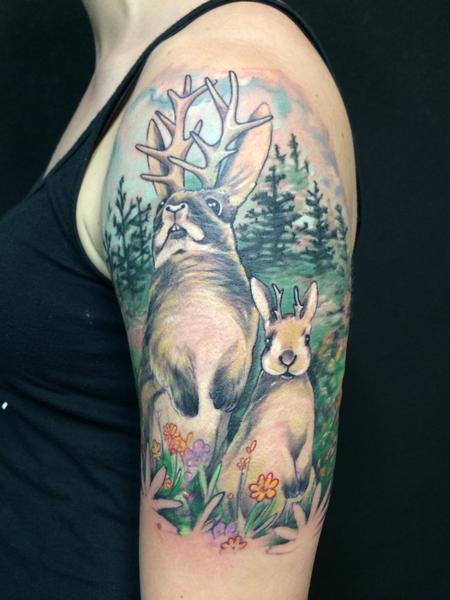 Tattoos - jackalope - 94712