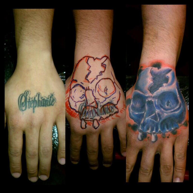 free hand cover up by bobby cimorelli tattoonow