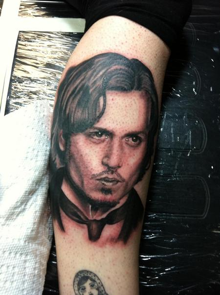 Hal Sawyer - Johnny Depp!