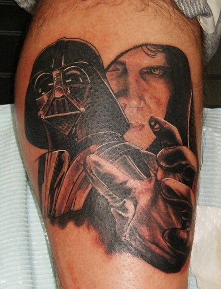 Hal Sawyer - Darth Vader Tattoo