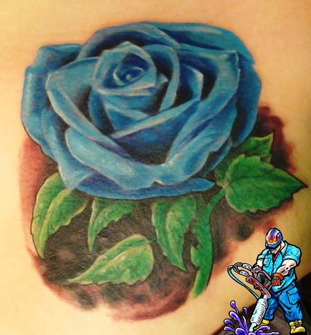 Jack Hammer  - blue rose tattoo