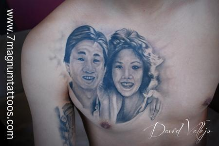 Tattoos - parents portraits