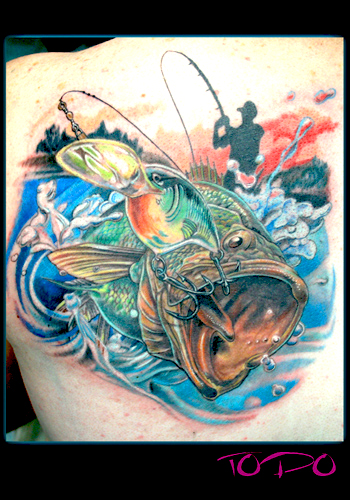 Tattoos - Bass Tattoo - 28820