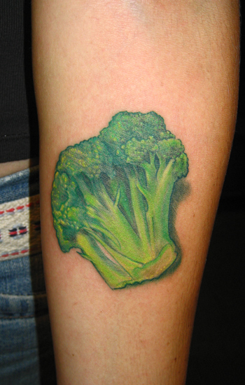 Tattoos - Brocolli - 22719