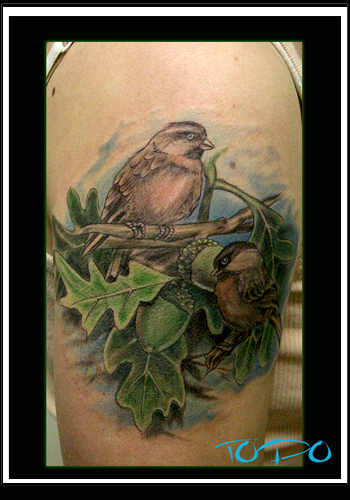 Tattoos - Chickadee - 28708