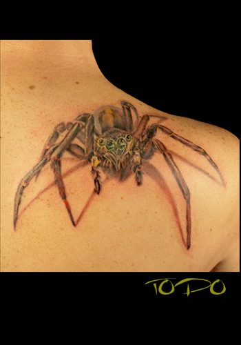 Tattoos middot; Todo. spider