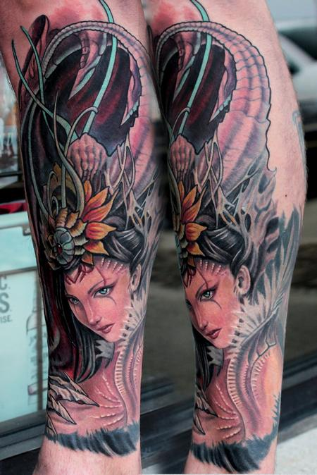 Tattoos - Alien Girl - 82352