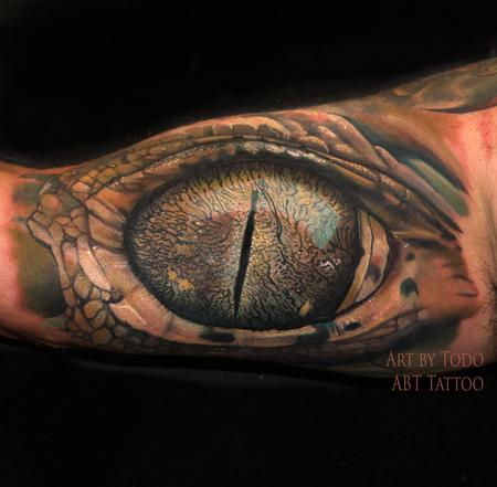 Tattoos - Gator Eye - 104047