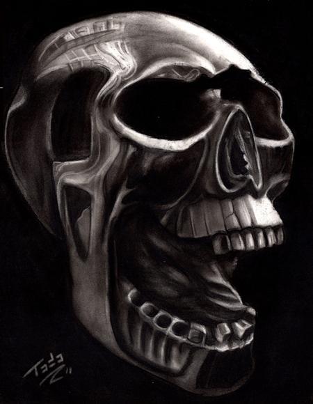Tattoos - Skull Study - 60937