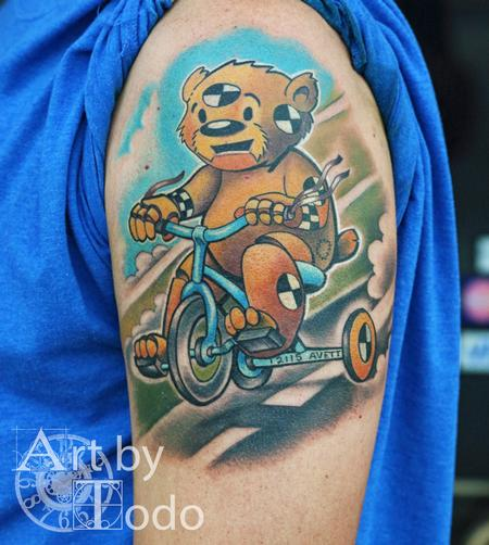 Tattoos - Crash Teddy - 123515