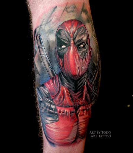 Tattoos - Dead Pool - 103998