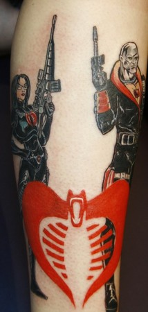 gi joe tattoos and body art and galleries on pinterest. Black Bedroom Furniture Sets. Home Design Ideas