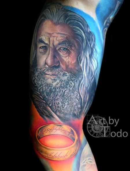 Tattoos - Gandalf - 123464