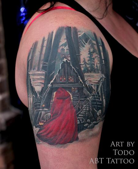 Tattoos - Little Red Riding hood - 103891