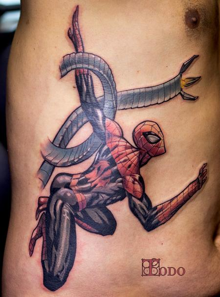 Tattoos - Spiderman  - 109812