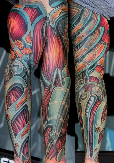 Tattoos - Bio Mech Sleeve - 82357
