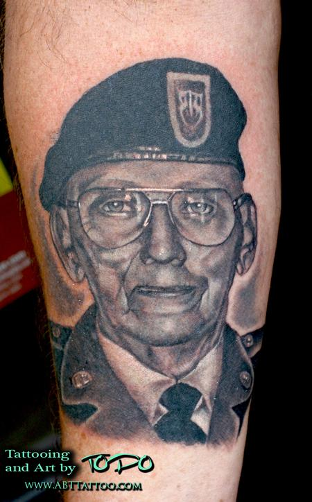 Tattoos - Military portrait - 66072