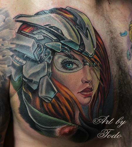 Tattoos - Transformer Girl - 88991