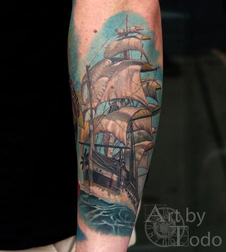 Clipper Ship Design Thumbnail