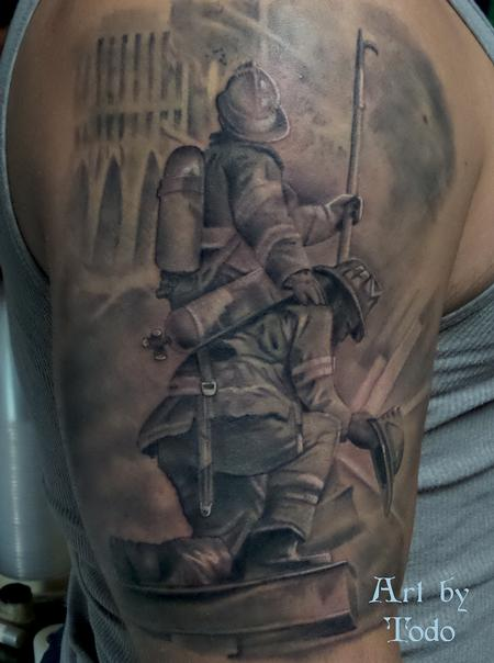 Tattoos - Fire Fighters - 99496