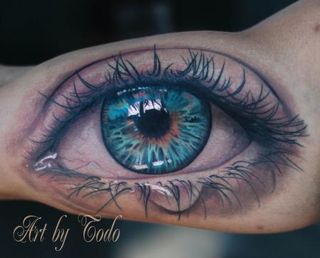 Tattoos - Eye Tattoo - 84236