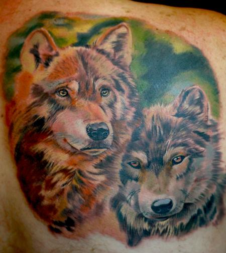 Tattoos - Wolves - 58941