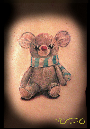 Tattoos - mouse doll - 30428