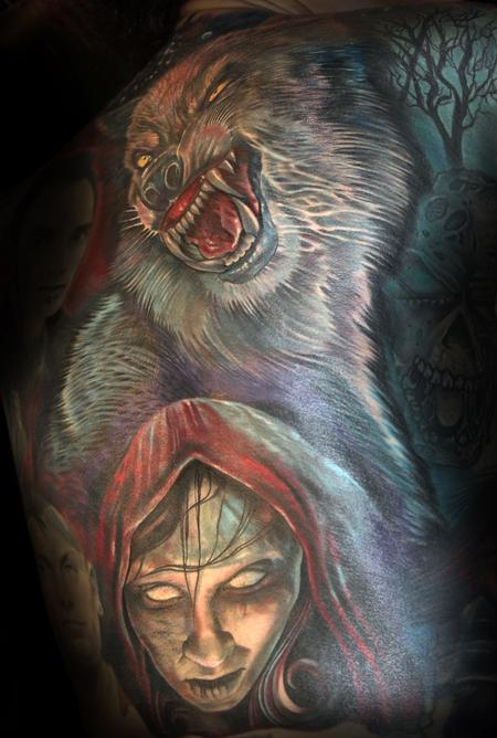 Little Dead Riding Hood Tattoo Thumbnail