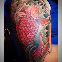 Tattoos - Koi Fish Half Sleeve - 106339