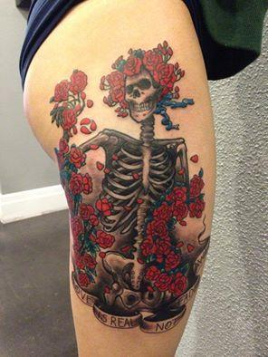 Kyle Miller - Skeleton and Roses