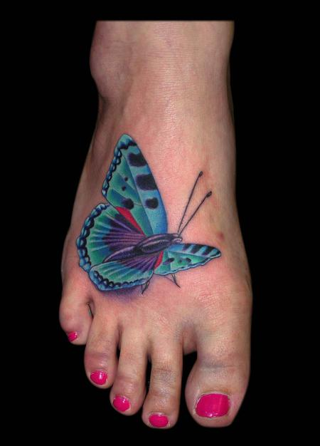 Tattoos - Blue Butterfly  - 79406