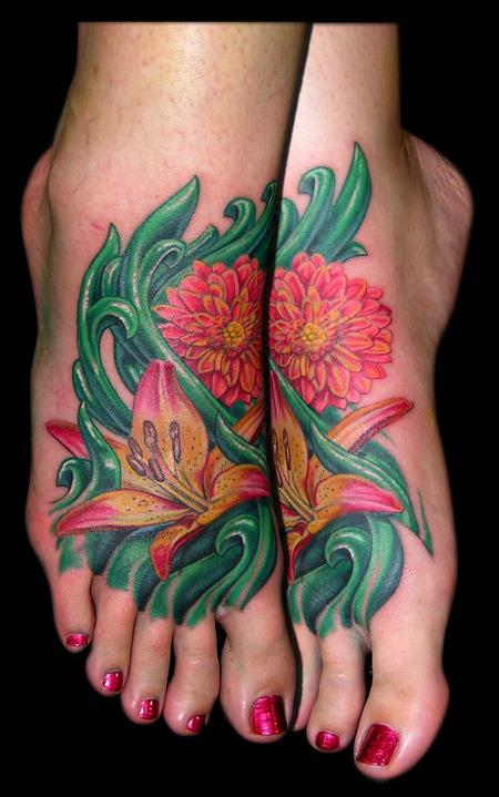 Tattoos - Lily and Mum  - 65073