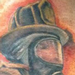 Firefighter Cover up Tattoo Design Thumbnail