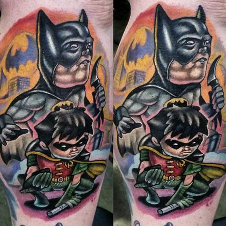 Adam Aguas - Batman and Robin