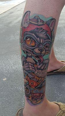 Tattoos - Drunk Cat - 101039