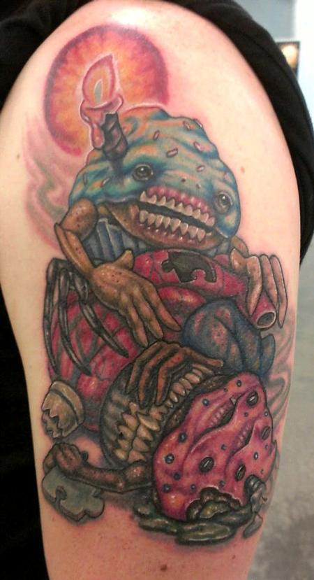 Tattoos - Cupcake monsters - 72363
