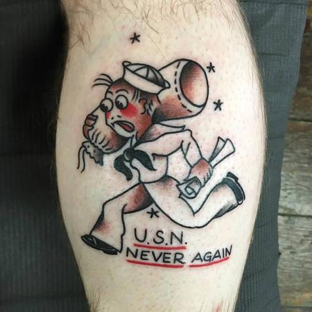 Adam Lauricella - Sailor Jerry Sailor Tattoo