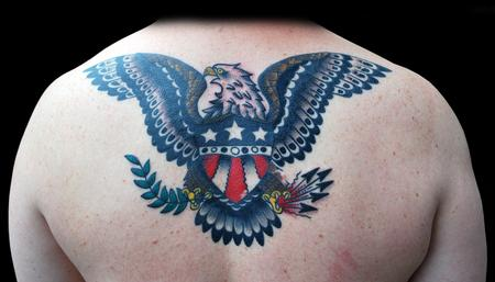 Tattoos - Norman Collins Victory Eagle Tattoo - 68966