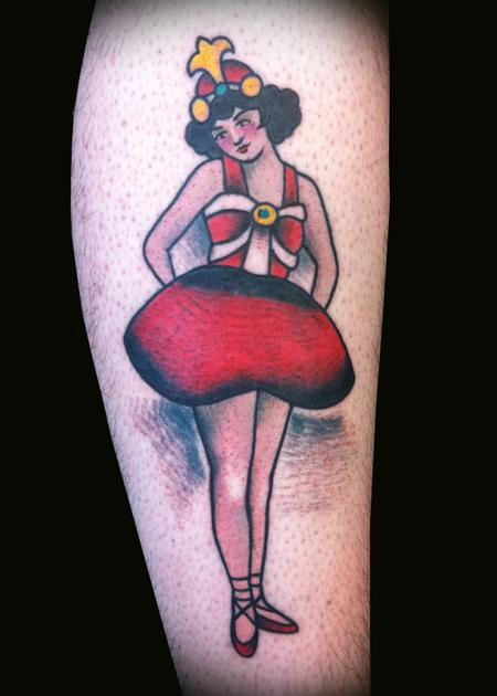 Adam Lauricella - Ben Corday Ballerina Tattoo