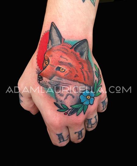 Fox Head Tattoo Tattoo Design Thumbnail