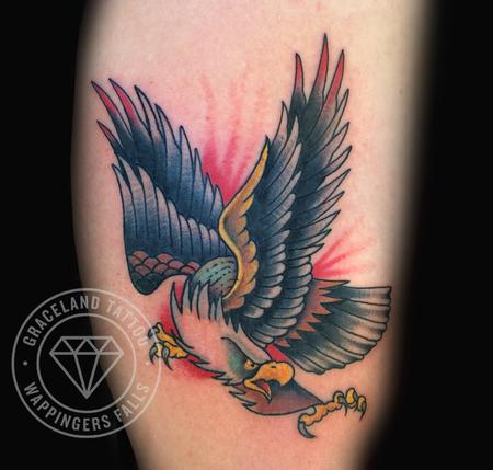 Adam Lauricella - Screaming Eagle Tattoo