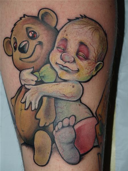 Kelly Gormley - zombie baby