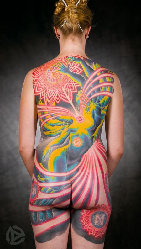 Tattoos - Adrian Lee Backpiece - 67190