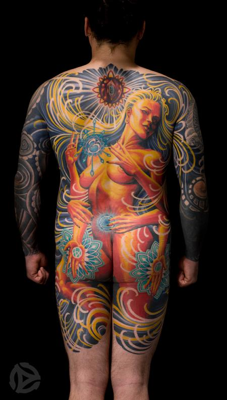 Tattoos - Adrian Lee Backpiece  - 67061