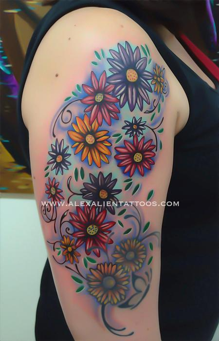 flowers flowers flowers Tattoo Design Thumbnail