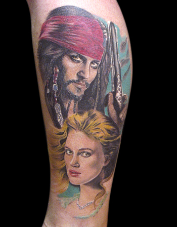 Tattoos - Pirates of The Caribean - 21717