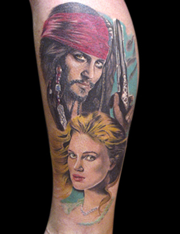 Tattoos - Pirates of The caribean - 21721